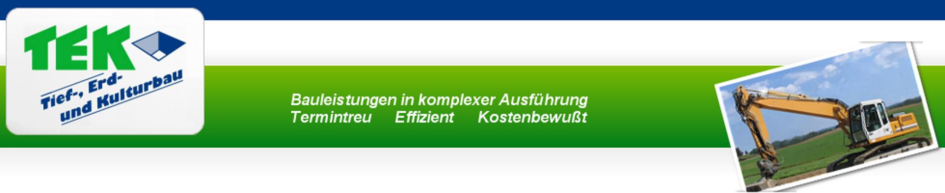 TEK - Tief-, Erd- und Kulturbau GmbH Rostock